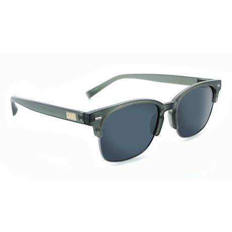 Unisex Sanibel Polarized Sunglasses // Matte Crystal Gray