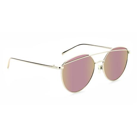 Unisex Dulcet Polarized Sunglasses // Gold