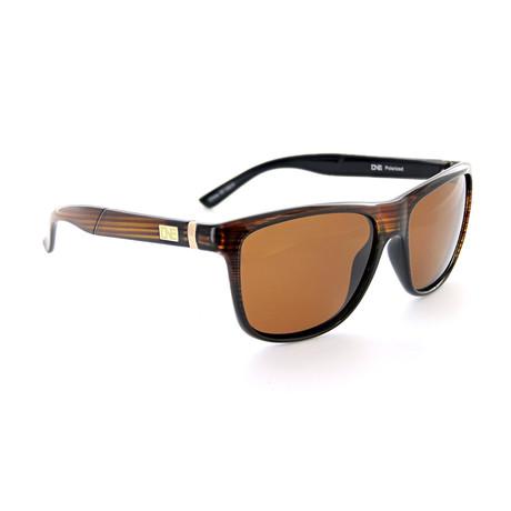 Unisex Hobnob Polarized Sunglasses // Shiny Driftwood