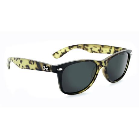Unisex Revtown Polarized Sunglasses // Matte Dark Demi