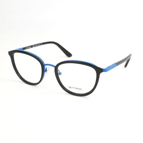 Women's ET2100 001 Optical Frames // Black + Blue