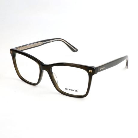 Women's ET2603 334 Optical Frames // Khaki