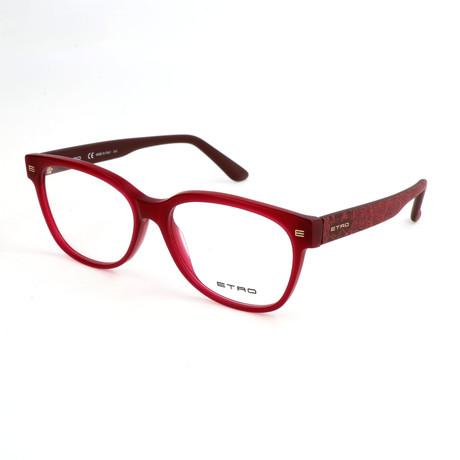 Women's ET2612 608 Optical Frames // Matte Bordeaux