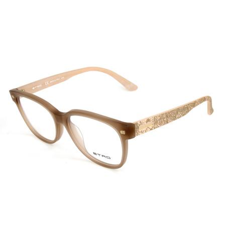 Women's ET2612 244 Optical Frames // Matte Turtle Dove