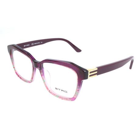 Women's ET2616 510 Optical Frames // Violet Paisley