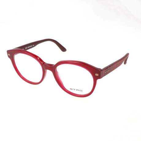Women's ET2611 603 Optical Frames // Bordeaux