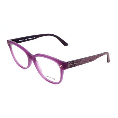 Women's ET2612 518 Optical Frames // Matte Purple