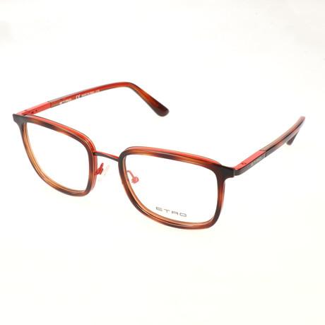 Men's ET2103 207 Optical Frames // Havana + Orange
