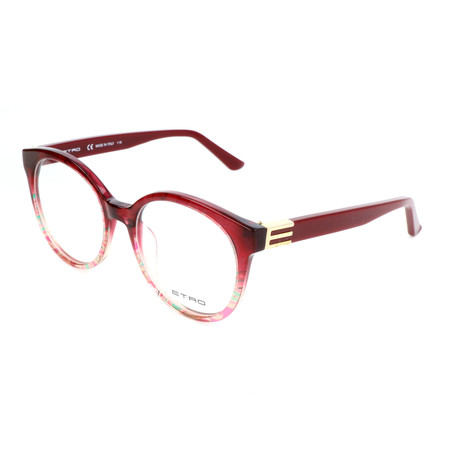 Women's ET2617 604 Optical Frames // Bordeaux Paisley