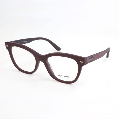 Women's ET2621 518 Optical Frames // Matte Purple