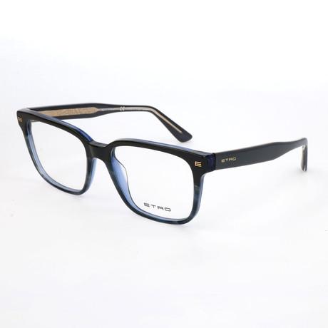 Men's ET2622 430 Optical Frames // Blue Horn