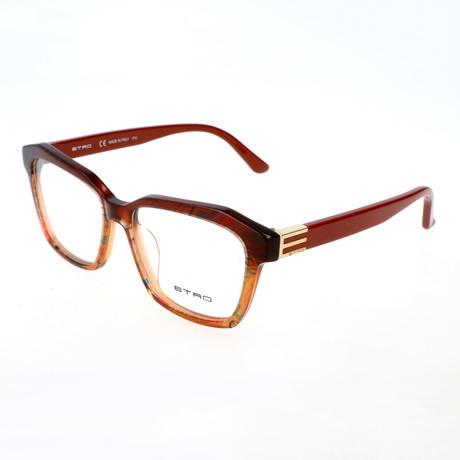 Women's ET2616 209 Optical Frames // Burnt Paisley