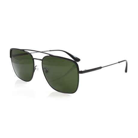 Men's PR53VS Sunglasses // Black + Green
