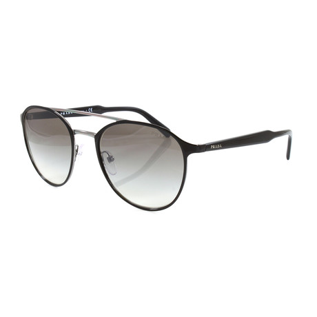 Prada // Men's PR62TS Sunglasses // Black + Gunmetal