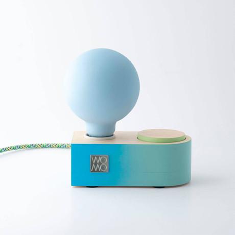 Neptün Table Lamp + Dimmer // Blue