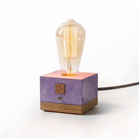 Table Lamp // Lilac