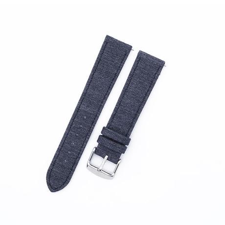 Cambridge VII Collection // Medium Light Gray Herringbone (20mm)