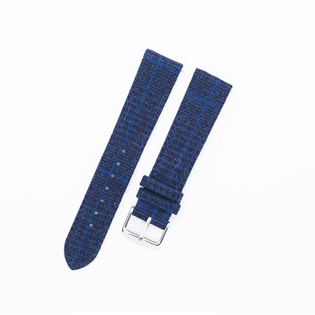 Flannel Collection // Navy Glencheck (20mm)