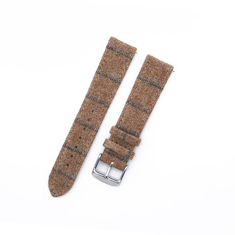 Flannel Collection // Light Tan Double Stripe (20mm)