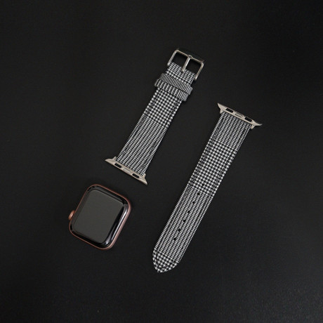 Cambridge VII Collection // Apple Watch // Large Exploded Black + White Glen (38mm/40mm)