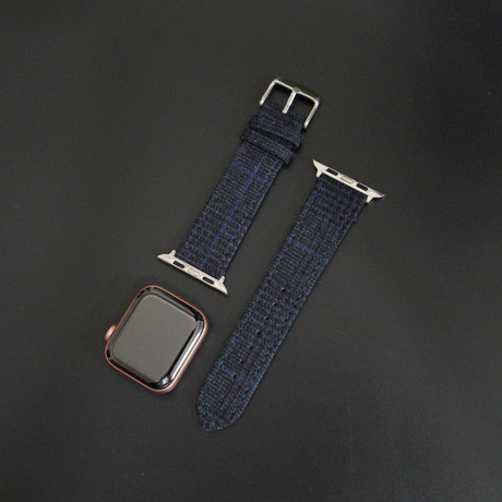 Flannel Collection // Apple Watch // Navy Glencheck (38mm/40mm)
