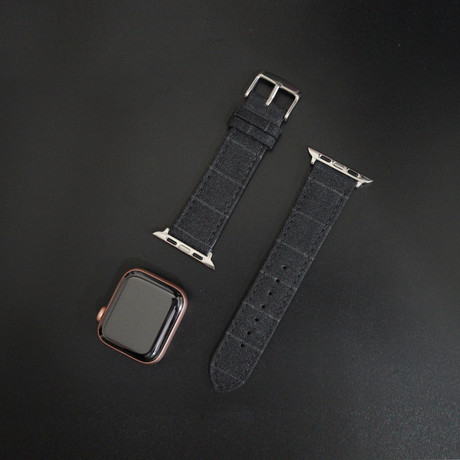 Cambridge VII Collection // Apple Watch // Char Gray Classic Chalk (38mm/40mm)
