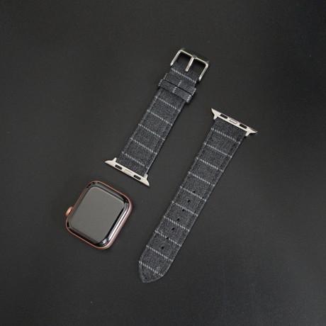 Classic II Collection // Apple Watch // Mid Gray Narrow Chalk Stripe (38mm/40mm)