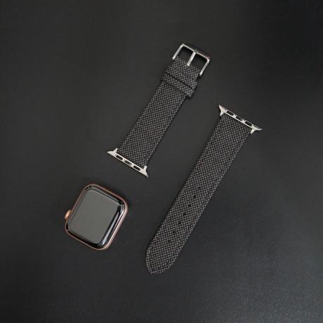 Cambridge VII Collection // Apple Watch // Brown Birdseye (38mm/40mm)