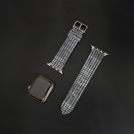 Flannel Collection // Apple Watch // Gray Glencheck (38mm/40mm)