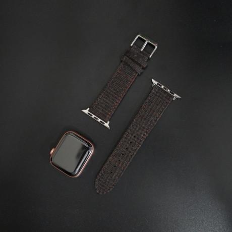Flannel Collection // Apple Watch // Dark Brown Glencheck (38mm/40mm)