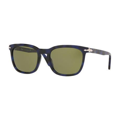 Men's Sunglasses // Blue + Green