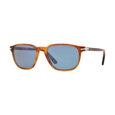 Men's Sunglasses // Terra Di Siena + Crystal Blue