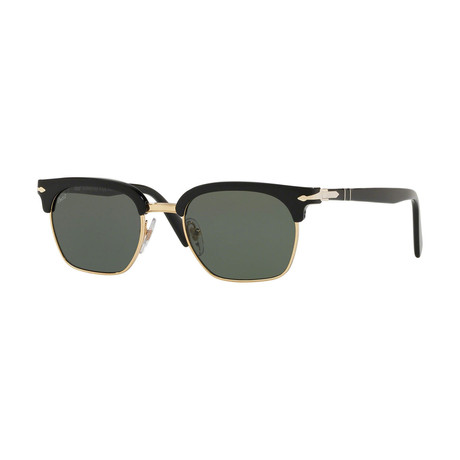 Men's Sunglasses // Black + Gold