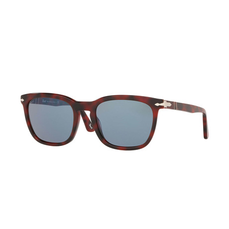 Men's Sunglasses // Red + Blue