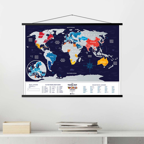 World Travel Map // Holiday