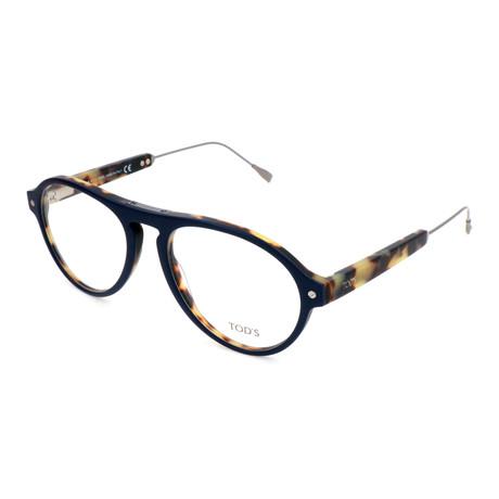 Men's TO5178 Optical Frames // Matte Blue + Havana