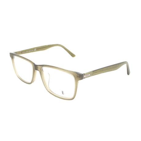Men's TO5150-F Optical Frames // Shiny Light Green
