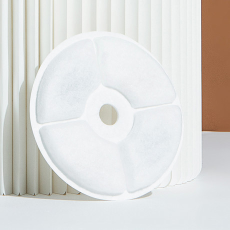 Moda-Pure // Filtered Dog + Cat Fountain Replacement Filters // 3 Pack