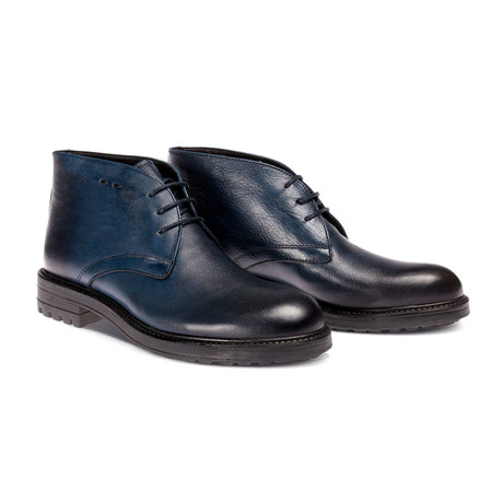 Ori Boot // Navy Blue (Euro: 40)