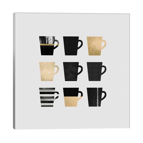 "Coffee Mugs // Elisabeth Fredriksson (26""W x 26""H x 1.5""D)"