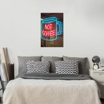 Hot Coffee Neon Sign, Kane's Donuts, Saugus, Essex County, Massachusetts, USA // Walter Bibikow
