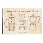 """Authentic Coffee I // Daphne Brissonnet (40""""W x 26""""H x 1.5""""D)"""