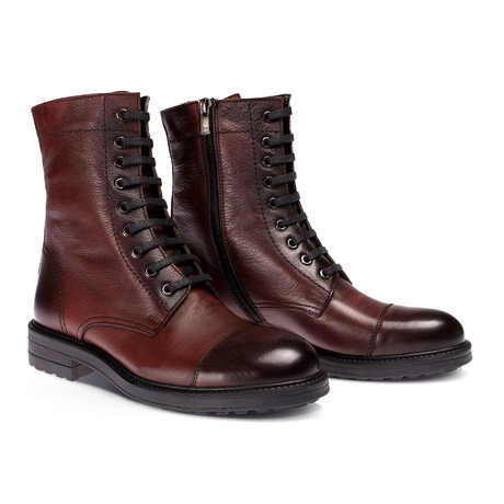 Asher Boot // Claret Red (Euro: 40)