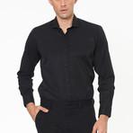 Harden Button-Up Shirt // Black (Small)