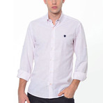 Ale Button-Up Shirt // Pink (Small)