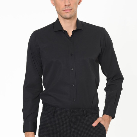 Harden Button-Up Shirt // Black (Small)