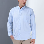 James Button-Up Shirt // Blue (Small)