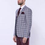 Cyrus 3-Piece Slim Fit Suit // Light Blue (Euro: 44)