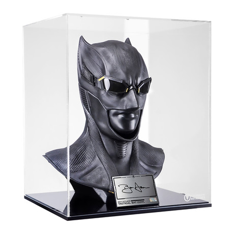Ben Affleck // Batman v Superman: Dawn of Justice // Autographed 1:1 Scale Batman Cowl