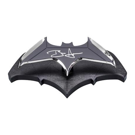Ben Affleck // Autographed Batman 1:1 Scale Batarang